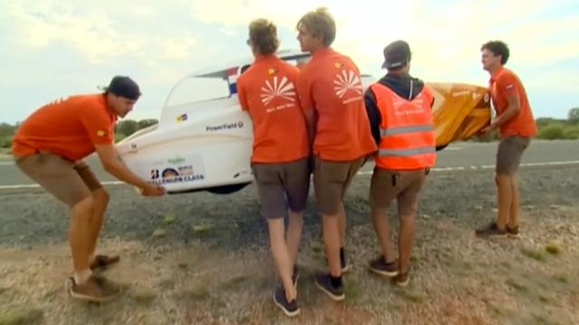 Nederlandse teams aan kop in World Solar Challenge