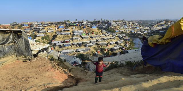 'Honderdduizend Rohingya in Bangladesh bedreigd door regenseizoen'
