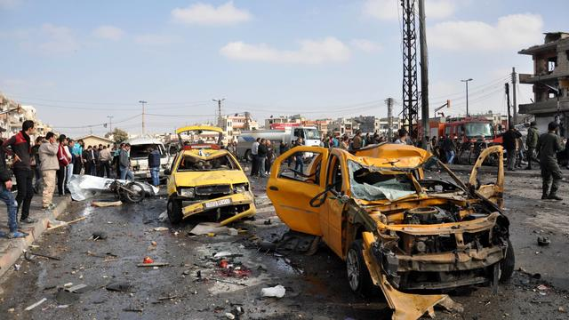 Tientallen doden door bomaanslagen in sjiitische wijk Damascus