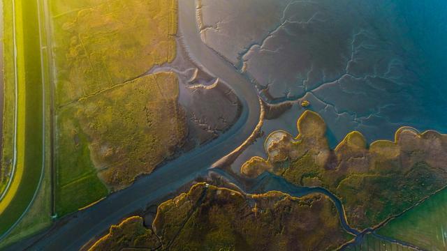 Groninger maakt mooiste dronefoto van 2016