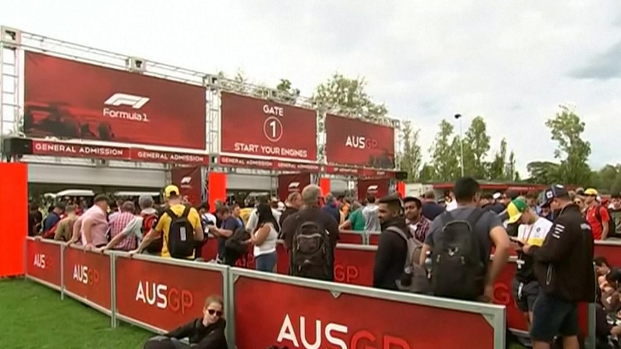 Formule 1-fans laten zich horen na afgelasten GP Australië