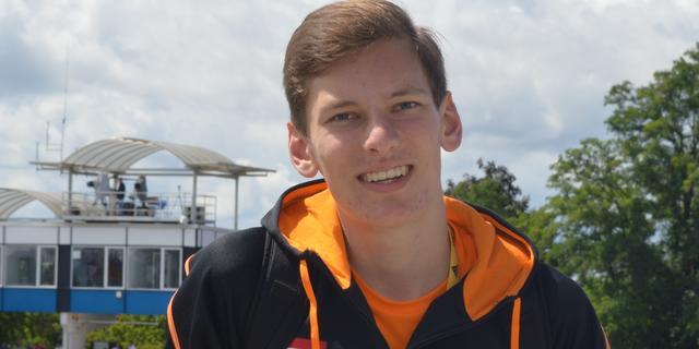 Hoogspringer Sven van Merode achtste op EK junioren