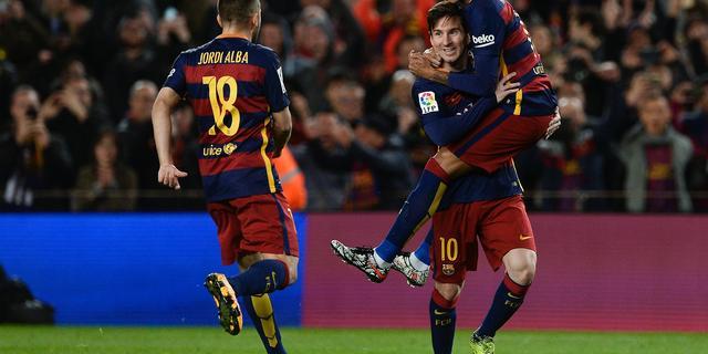 Koploper FC Barcelona boekt nipte zege, Juventus wint van Inter