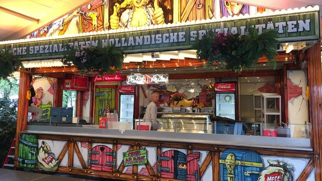 Gestart met opbouw Oktoberfeesten in Rijnstreekhal