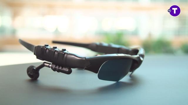 Prul of Praal? Zonnebril met draadloze koptelefoon