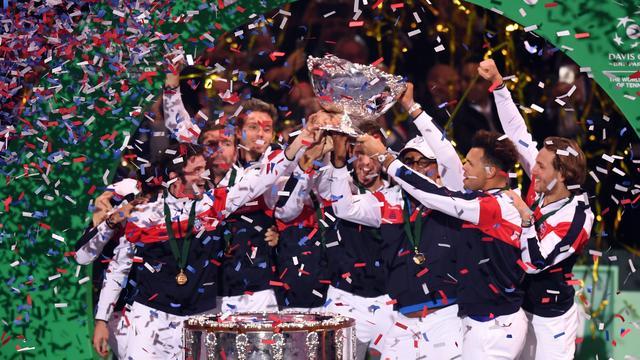 Frankrijk verslaat België en wint voor het eerst sinds 2001 Davis Cup