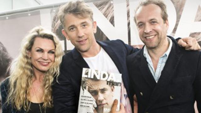 Gisteren gelanceerd: de allereerste LINDA.man met Waldemar op de cover