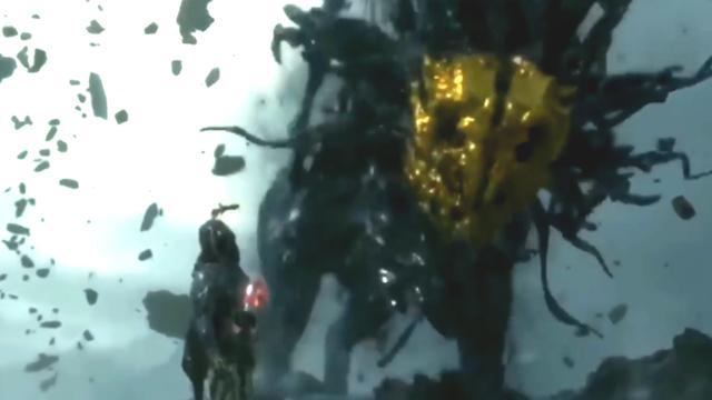 Schurk tovert wezen tevoorschijn in gametrailer Death Stranding