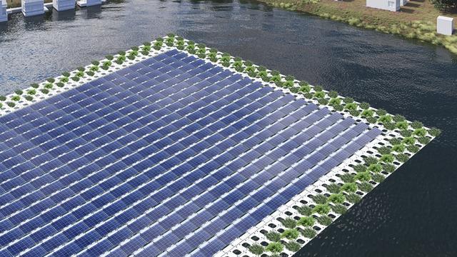 'Zon op Water wil honderdduizenden zonnepanelen op open water'