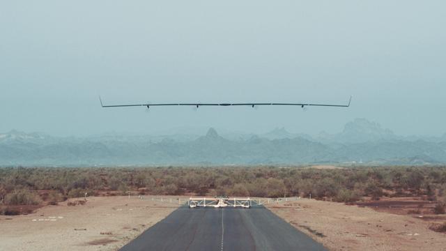 Succesvolle eerste test met onbemand vliegtuig Facebook