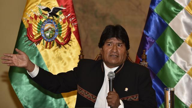 Tumor verwijderd bij Boliviaanse president Morales