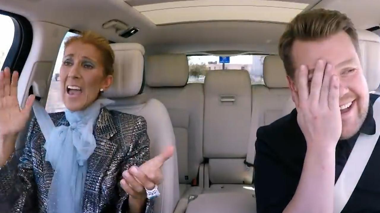 Céline Dion blijkt bij iedere gelegenheid te kunnen zingen
