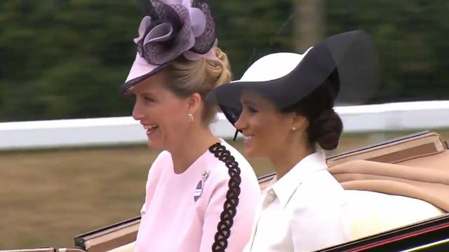 Meghan Markle maakt haar debuut op Royal Ascot