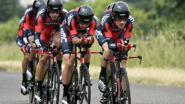 Liveticker Tour: Lotto-Jumbo negende in ploegentijdrit