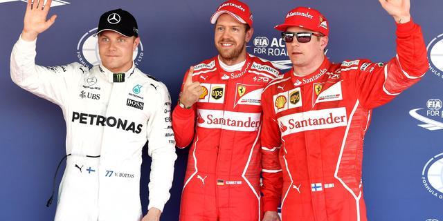 Vettel ziet pole position als bevestiging dat Ferrari terug is aan top