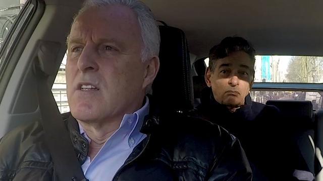 In de auto met Peter R. en Spong: 'Probleem als Holleeder vrijkomt'
