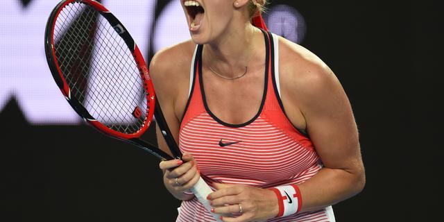 Kvitova verrassend uitgeschakeld, Radwanska klopt Bouchard