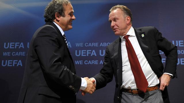 Rummenigge belooft steun aan Platini voor FIFA-verkiezing