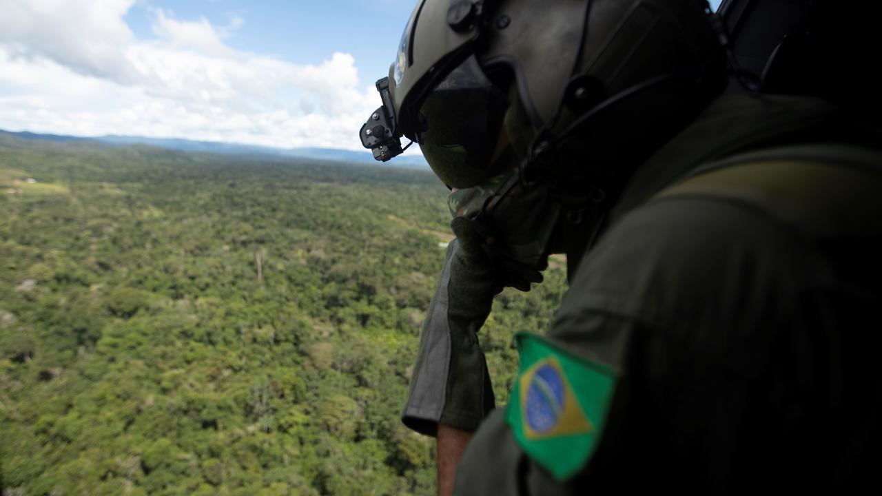 Stukken Amazoneregenwoud worden illegaal aangeboden op Facebook - NU.nl