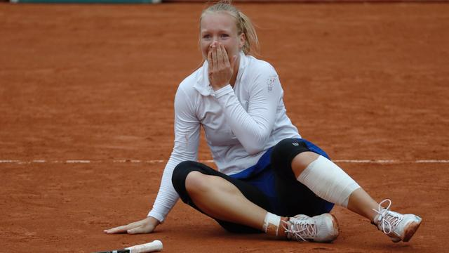 Bertens na nieuwe stunt in halve finale Roland Garros