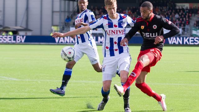 Excelsior en Heerenveen in evenwicht, Cambuur onderuit bij NEC