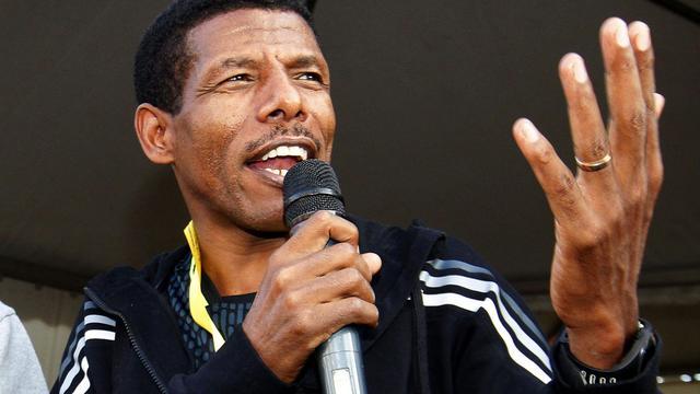 Tweevoudig olympisch kampioen Haile Gebrselassie (42) stopt
