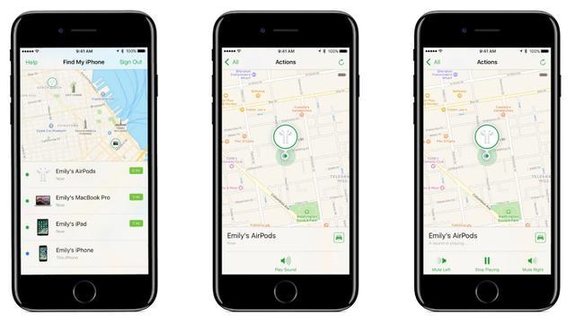 Apple laat gebruikers verloren AirPods via app lokaliseren