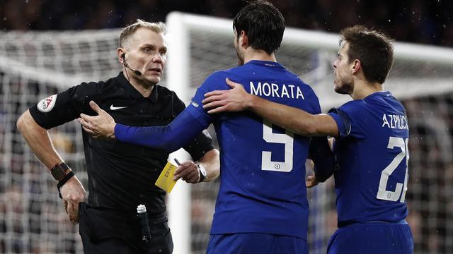 Chelsea-manager Conte beklaagt zich over werkwijze video-arbiter