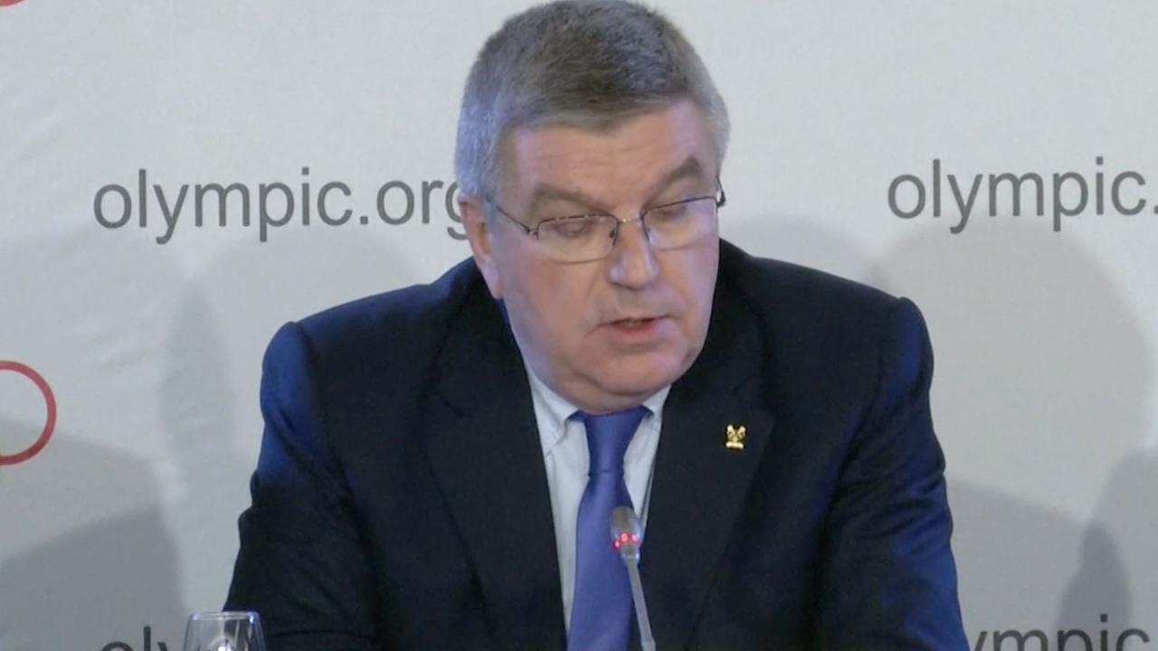 Voorzitter IOC licht sancties tegen Rusland toe