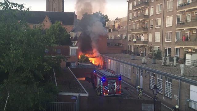 Mogelijk verband tussen drie branden in binnenstad Utrecht