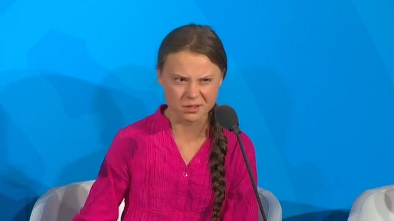 Greta Thunberg houdt emotionele speech tijdens VN-klimaattop