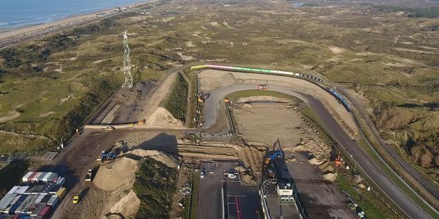 Verbouwing op Circuit Zandvoort in volle gang