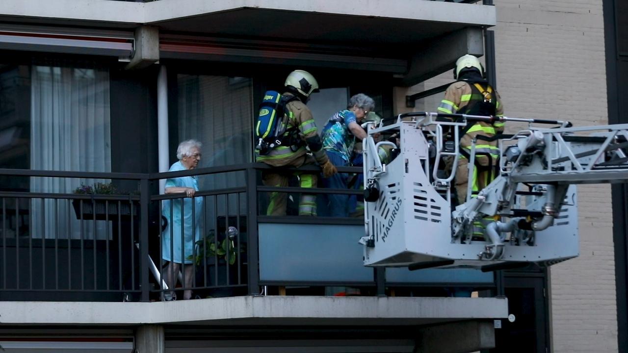 Bewoners zorgcentrum in Breukelen geëvacueerd bij brand