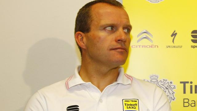 Ploegleider De Jongh denkt dat Contador zich op tweede plek moet richten