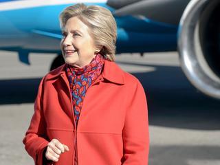 Democratische presidentskandidaat voor het eerst sinds 9 november in talkshow