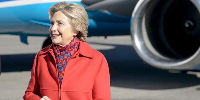 'Clinton heeft dinsdag 90 procent kans op winst'