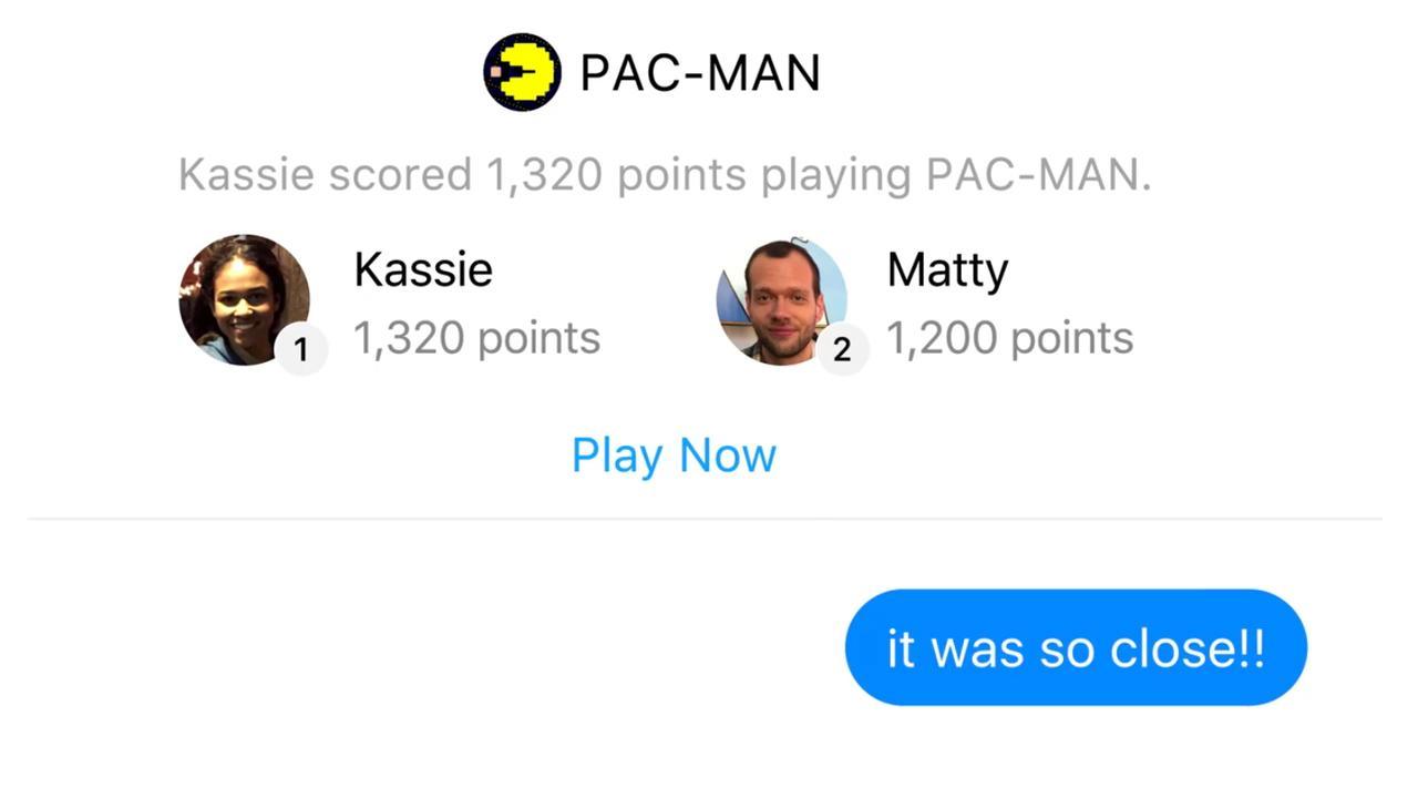Facebook laat gebruikers spelletjes tegen elkaar spelen in Messenger