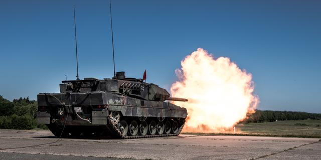 Nederlandse tanks naar Litouwen om de Russen af te schrikken