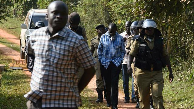 Oppositieleider Uganda weer onder huisarrest geplaatst