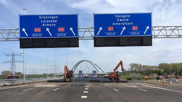 A4 richting Den Haag zes weekenden dicht