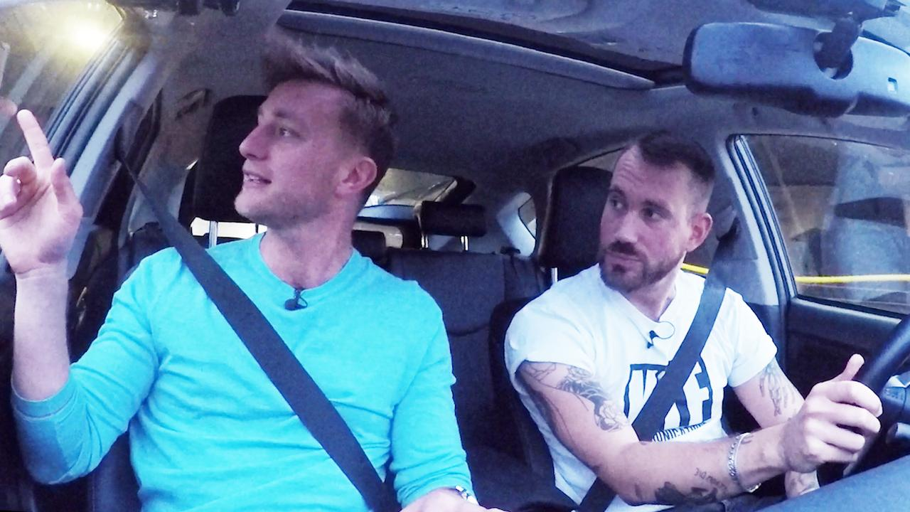 In de auto met Jan Versteegh: Over papapaniek en dochter op Instagram