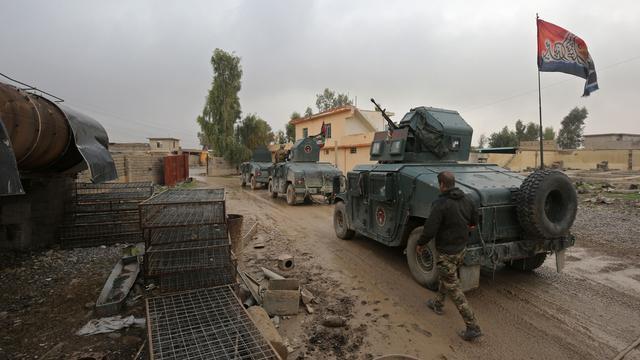 Generaal zegt dat Iraakse troepen Oost-Mosul hebben heroverd op IS