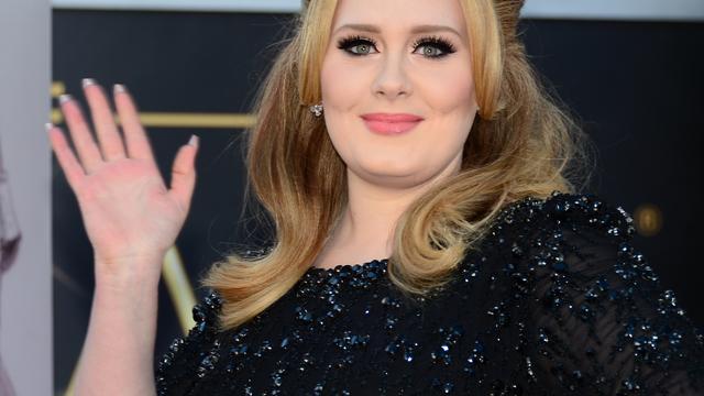 Beroemdheden bezoeken concert Adele in New York