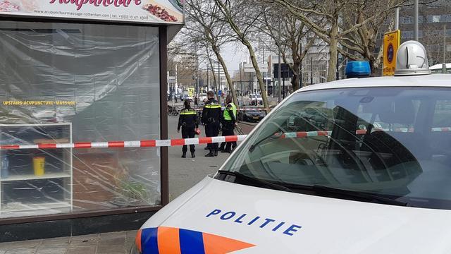 Geen sporen van explosie aangetroffen bij Schiedamsedijk