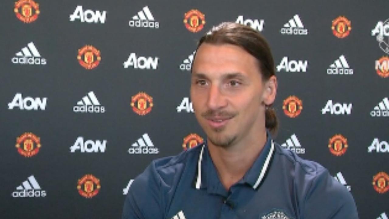 Zlatan: 'Nu begint het harde werken'