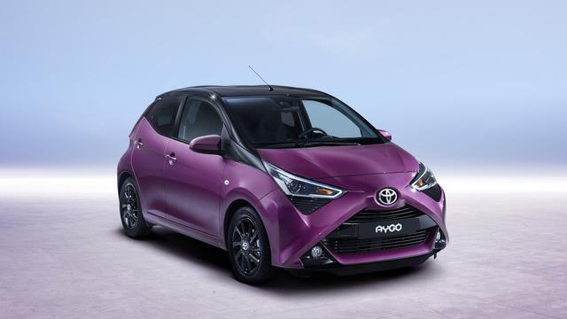 Toyota wijzigt uiterlijk van Aygo