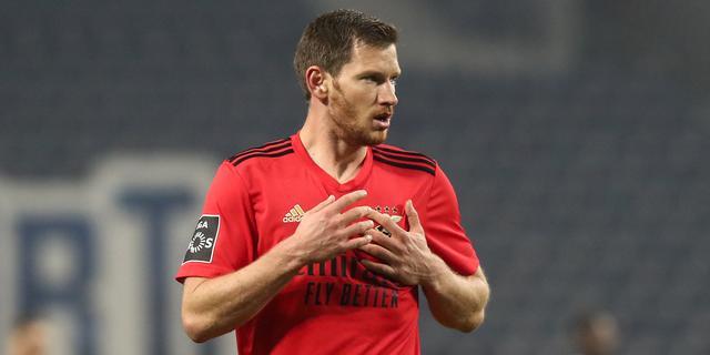 Benfica vraagt uitstel duels na 17 coronagevallen, onder wie Vertonghen