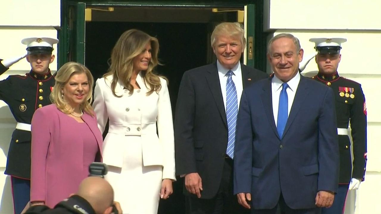 Netanyahu arriveert bij Witte Huis voor gesprek met Trump