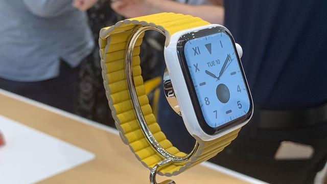 Apple toont Apple Watch met scherm dat altijd aanstaat