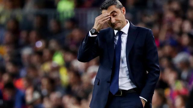 Valverde weet nog niet of hij trainer blijft van FC Barcelona